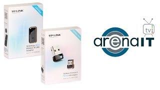 Review adaptoare wireless USB de la TP-Link (TL-WN823N si TL-WN725N)