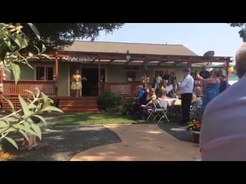 """Joe & Mikaela Medeiros Wedding Procession- """"Marry Me"""" By The Family Crest- August 8, 2015"""