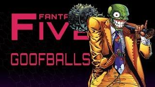 5 Biggest Goofballs in Comics - Fantastic Five