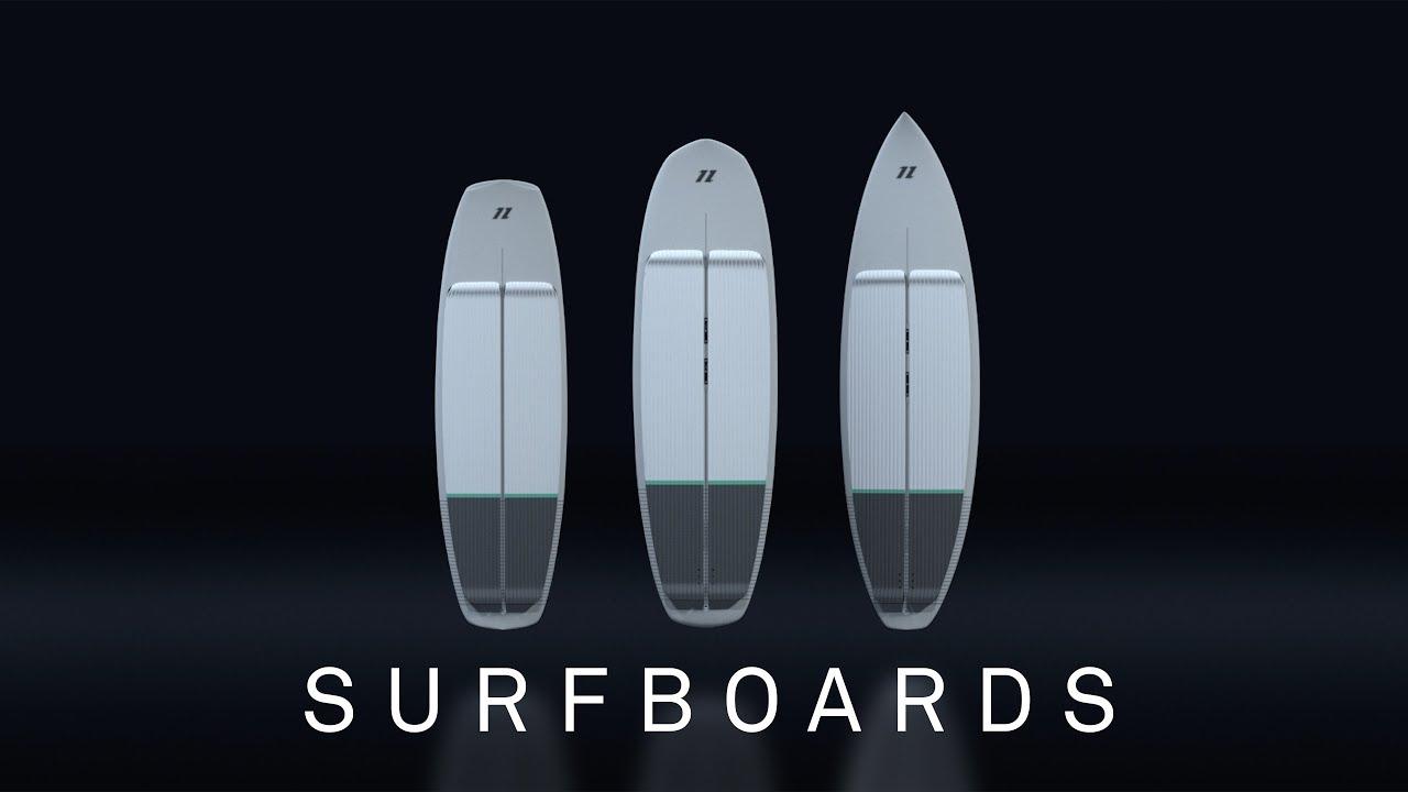 North Kiteboarding 2020 - Surfboard Range