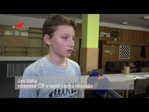 Jan Váňa je vícemistrem ČR v rapid šachu