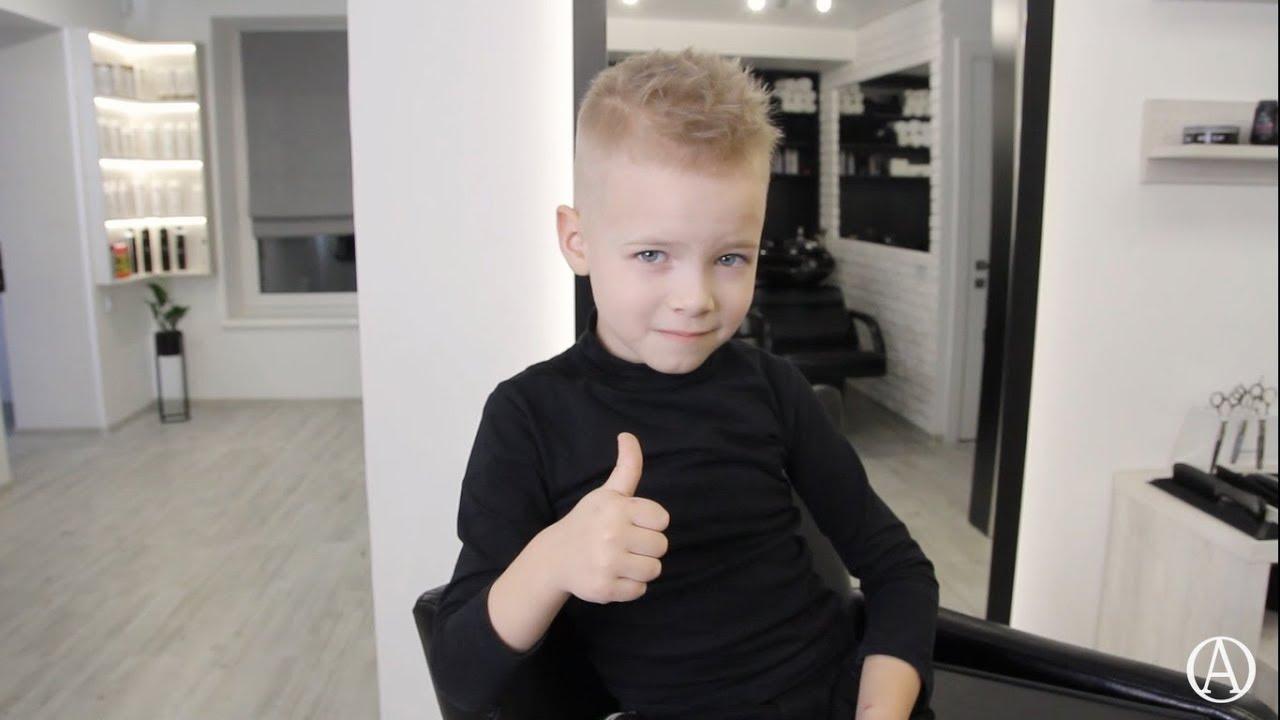 Как подстричь ребенка