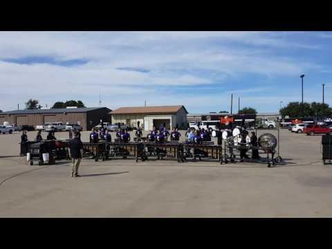 Drum Line Stand Still At Springtown