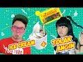 ICE CREAM + TOLAK ANGIN Wkwkwkw Enak Gak Ya ? #EGY With Cindy Gulla