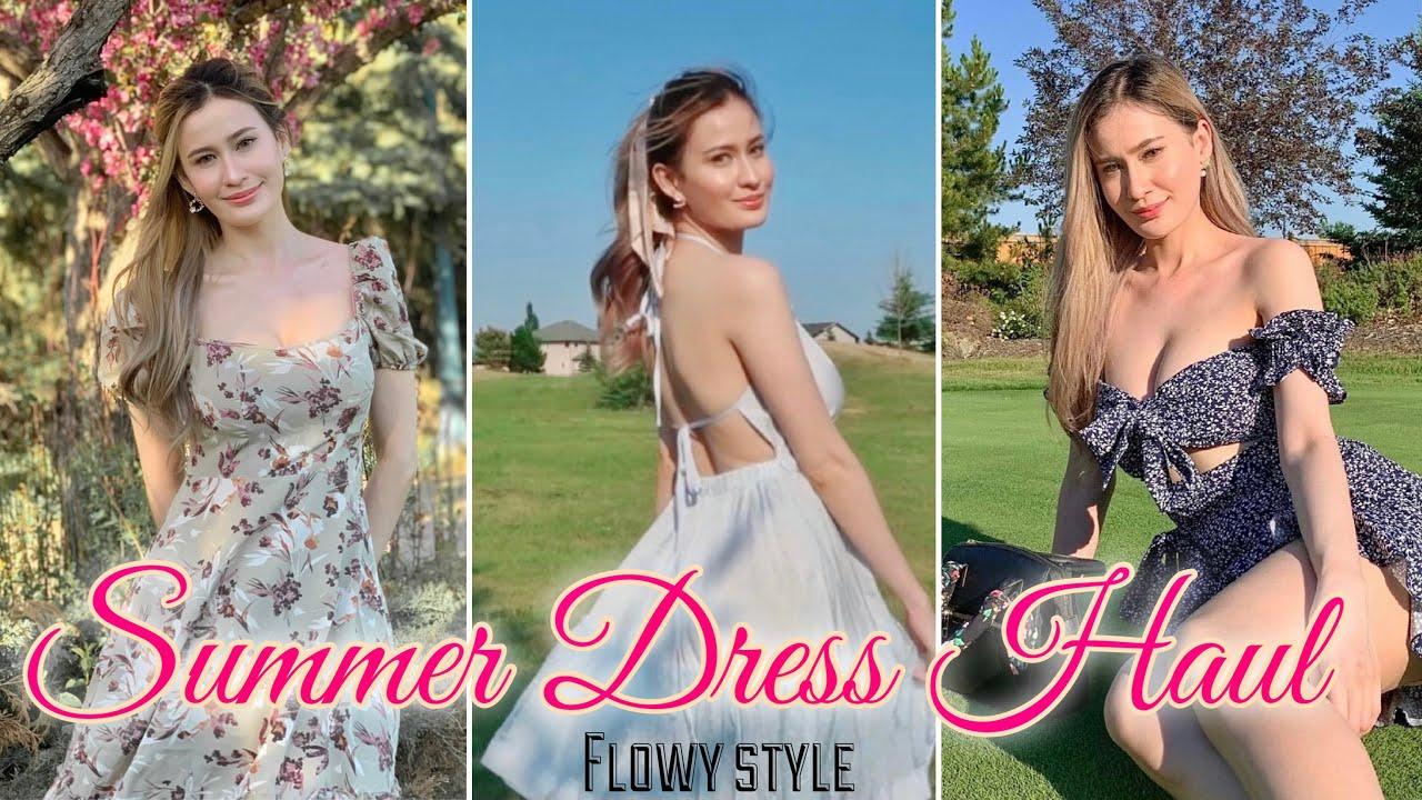 SHEIN SUMMER TRY ON HAUL 👗 ( Flowy Style, ANG GANDA! 🥰 ) | Jackie Smart