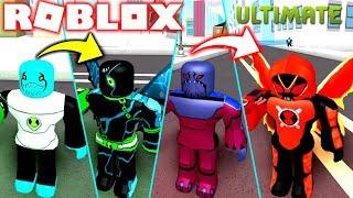 BEN 10 ROBLOX! ALLE ICE ALIENS IN OMNITRIX-BEN 10 FIGHTING GAMES