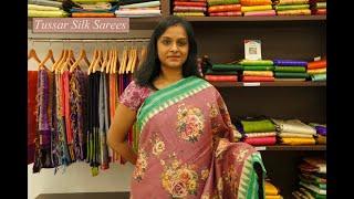 Tussar Silk Sarees | Parijat Collections
