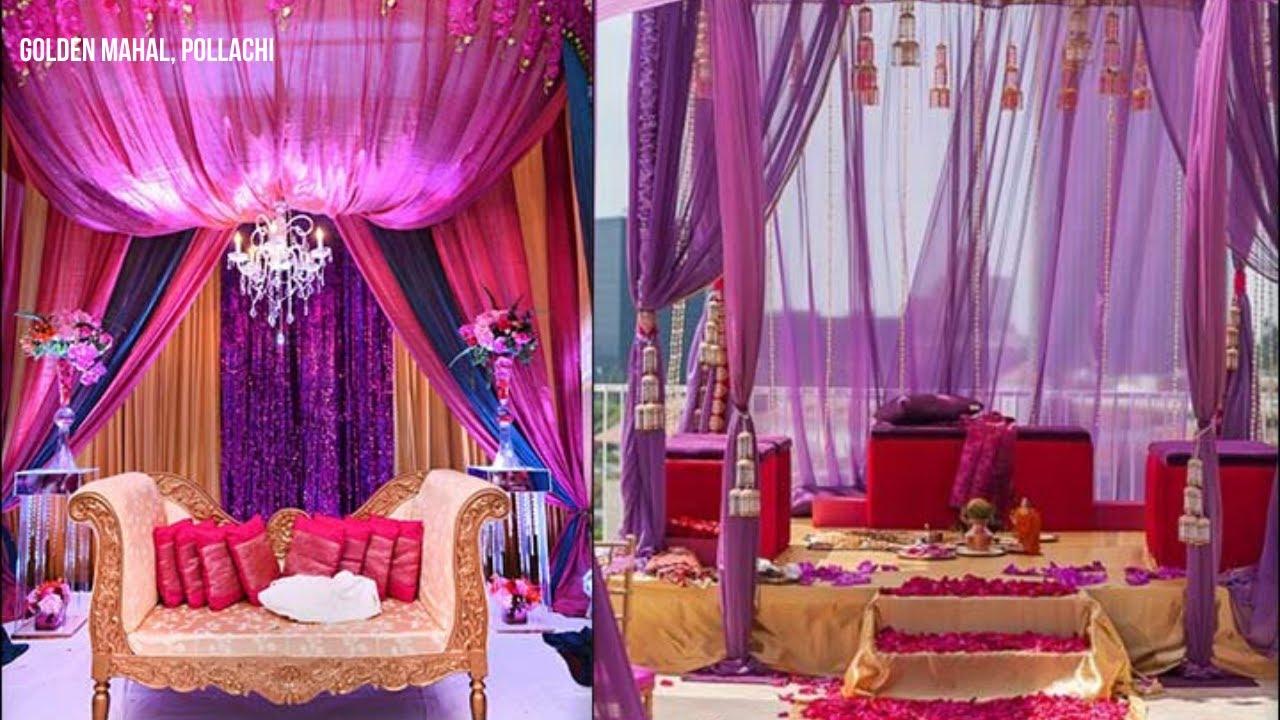 10 Beautiful Wedding Stage Decorations Youtube