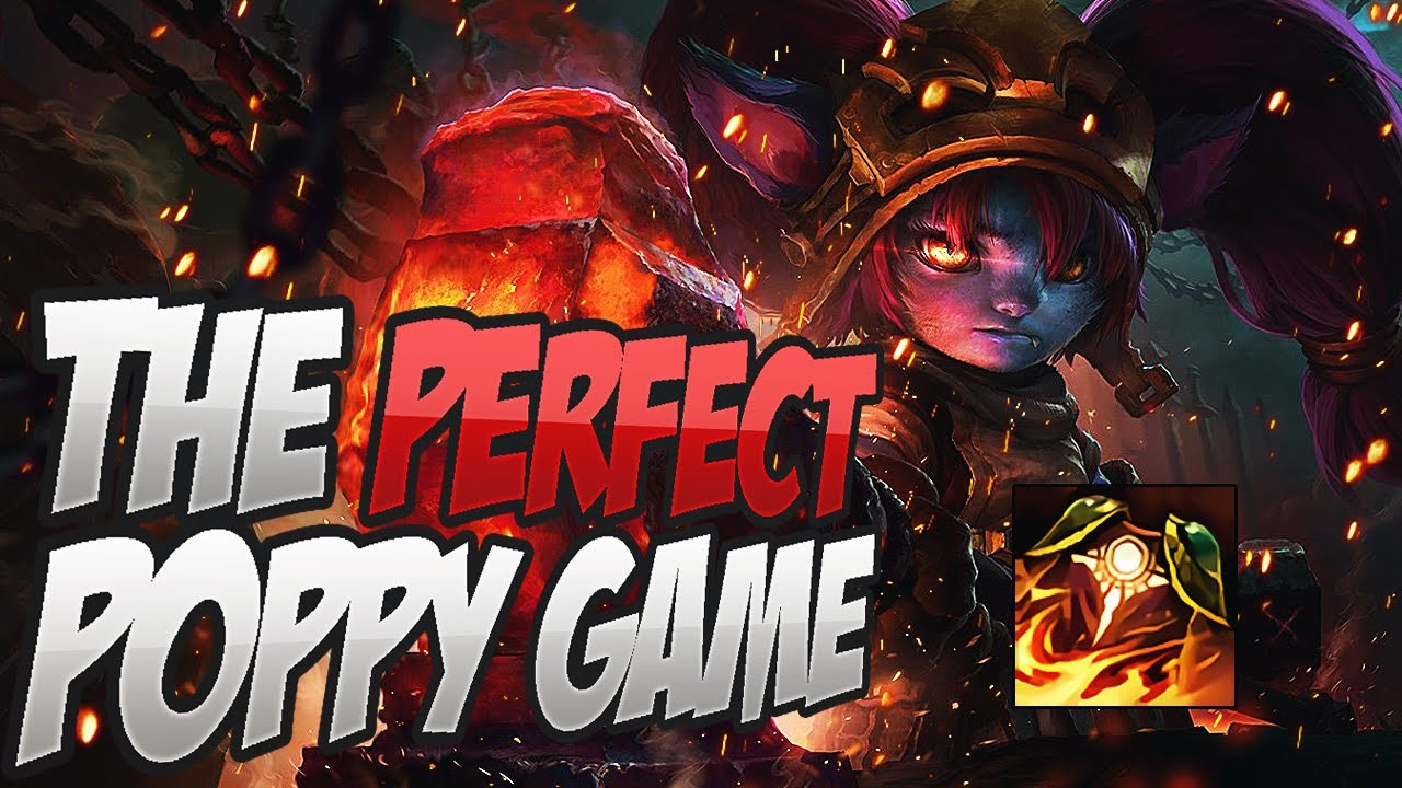The PERFECT Poppy GAME Makes The ENEMY OPEN MID! – League of Legends