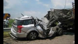 BRUTAL ROAD ACCIDENT IN INDIA || BACK TO BACK ACCIDENT