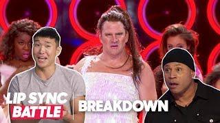 Comedians React to Pooch Hall vs. Dash Mihok w/ Joel Kim Booster & More | Lip Sync Battle Breakdown