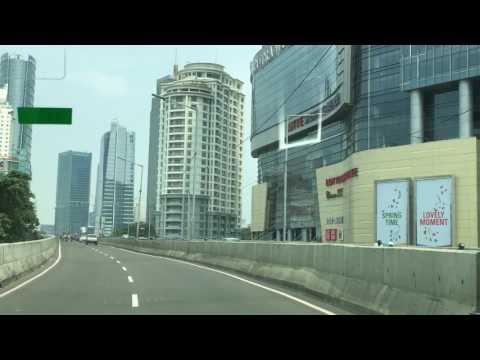 Jl. Kasablanka Flyover in Jakarta (03.09.2017)