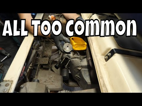1999 Club Car DS, Gas - Crank, No Start, Clean Carb