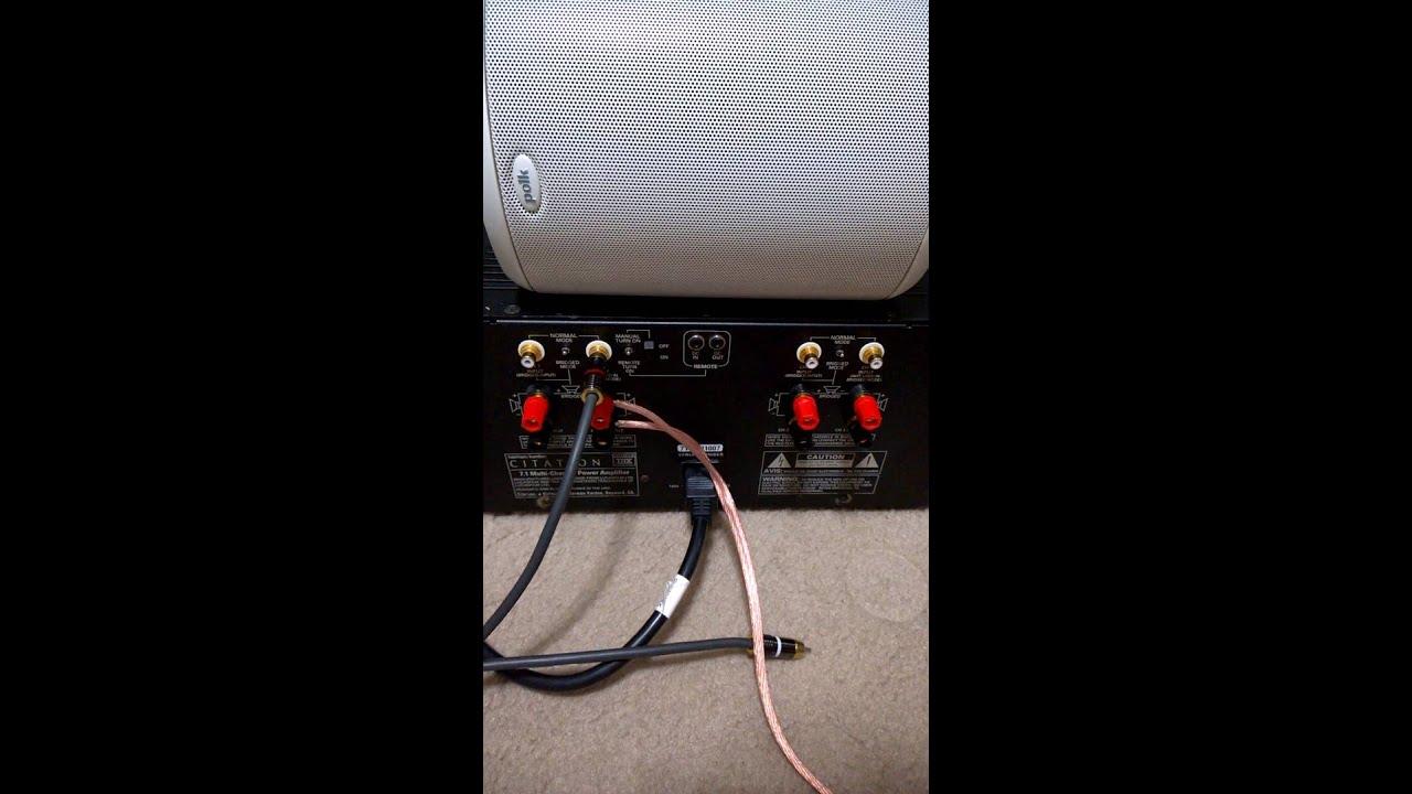 harman kardon citation 7 1 amplifier testing youtube. Black Bedroom Furniture Sets. Home Design Ideas