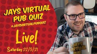 Virtual Pub Quiz, Live! Saturday 22nd May