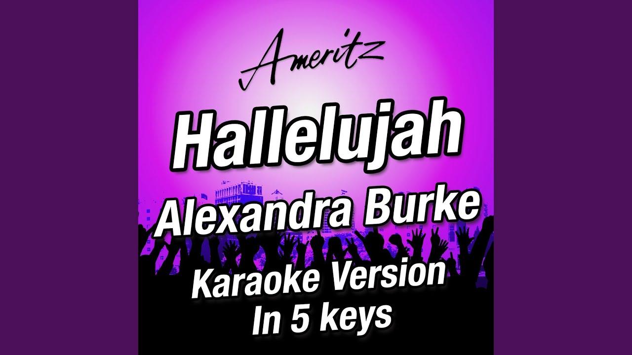 Hallelujah e originally performed by alexandra burke youtube hallelujah e originally performed by alexandra burke hexwebz Choice Image