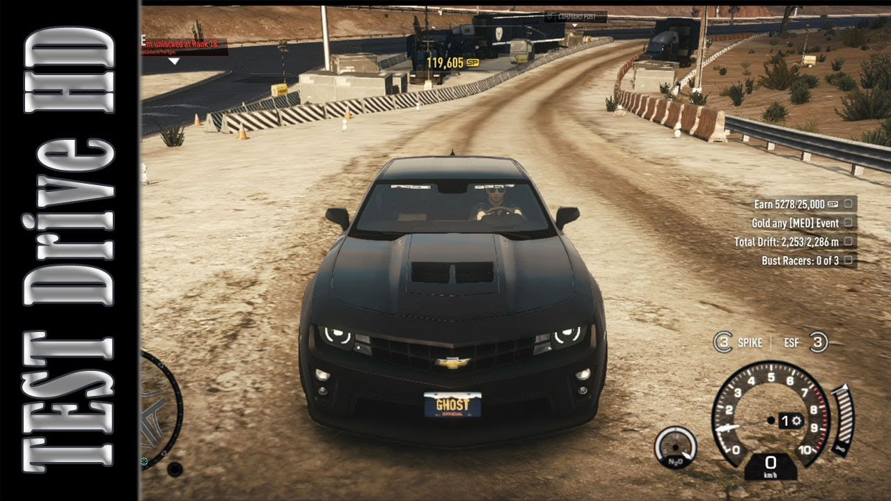 Chevrolet Camaro Zl1 Need For Speed Rivals Test Drive Hd Youtube