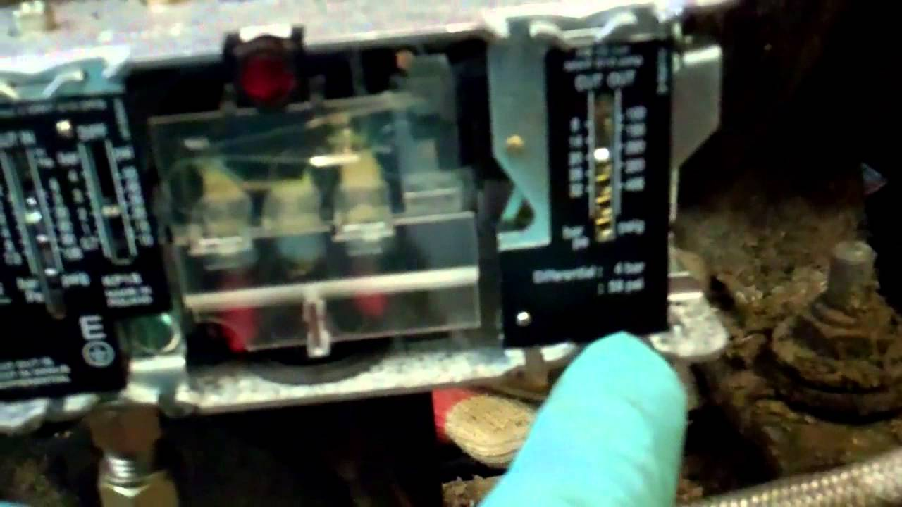 Dual pressure switch replacement  YouTube
