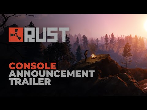 Rust - Console Announcement Trailer