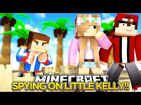 DONNY IS SPYING ON LITTLE KELLY!! - Little Donny Minecraft Custom Roleplay.