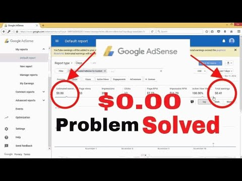 GOOGLE adsense CPC = US$0 00 SOLVED OR FIXED ( MUST WATCH ) & TRY 2017