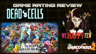 Weekly News Show: Nintendo Smash Direct, Dead Cells, We Happy Few, Overcooked 2!!! (08/09/18)