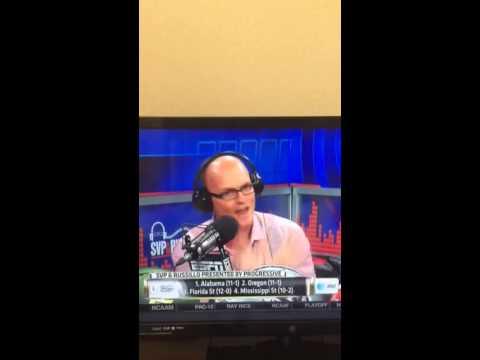 Scott Van Pelt on Baylor/TCU debate