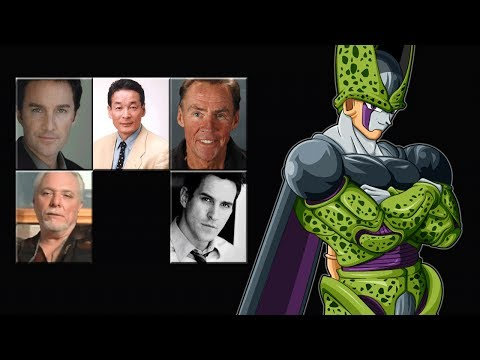 """Characters Voice Comparison - """"Perfect Cell"""""""