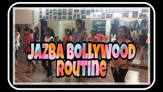 Jazba Dance Choreography easy to learn dance steps bollywood style