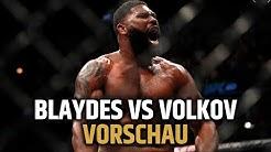 Der nächste Gegner für den Champion?! Blaydes vs Volkov Preview