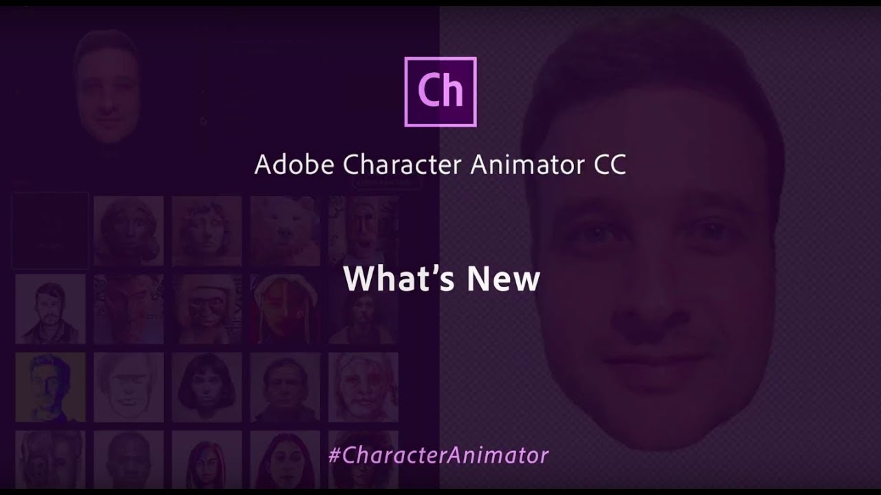 Adobe Characterizer turns you into an animated drawing with
