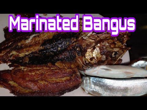 How To Make Marinated Milkfish|Marinated Bangus|Cleaning Fish