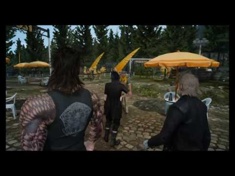 Final Fantasy XV pt6: Cheese Pizza = INFINTE ENERGY