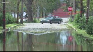 Flooding Starts to Recede in Mullins