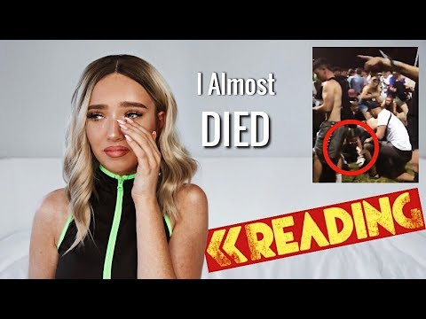 I Almost Died At Reading Festival || Story Time
