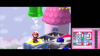 Mario and Donkey Kong: Minis on the Move - 100% Walkthrough - Puzzle Palace Levels 51-60