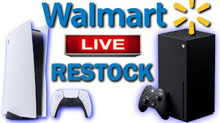 PS5 & XBOX RESTOCK TONIGHT! HOW TO SECURE YOUR PS5 & XBOX  FROM WALMART | CHECKING TARGET & BEST BUY
