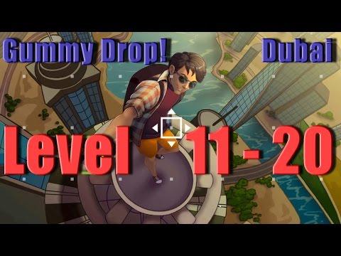 Gummy Drop! - Dubai - Конфетки! Level 11 - 20
