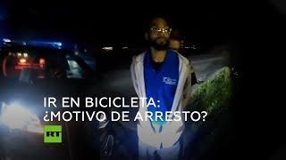 Policía arresta a un afroamericano cuando iba en bicicleta a su trabajo en EE.UU.
