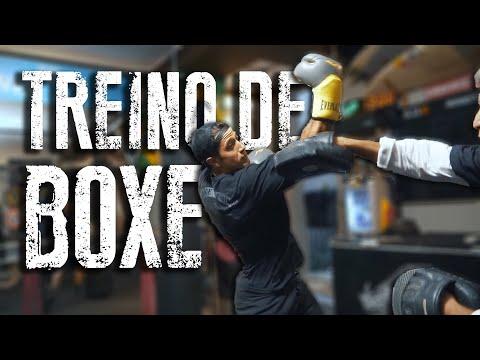 TREINO DE BOXE - PRIMEIRO COACH