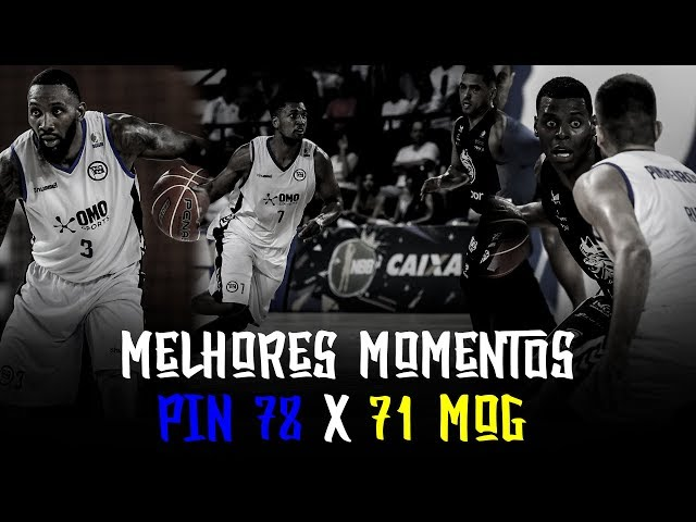 Melhores Momentos - PIN 78 x 71 MOG | NBB 2018-2019