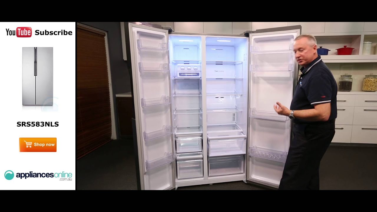 584l Samsung Side By Side Fridge Srs583nls Reviewed By