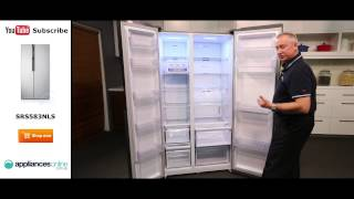 584L Samsung Side By Side Fridge SRS583NLS Reviewed by product expert - Appliances Online