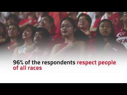 Singapore's racial views at a glance
