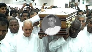 Pastor Wesley Peter Funeral Service