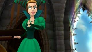#6 Игра Принцессы Зачарованный Мир  Битва с Зарой