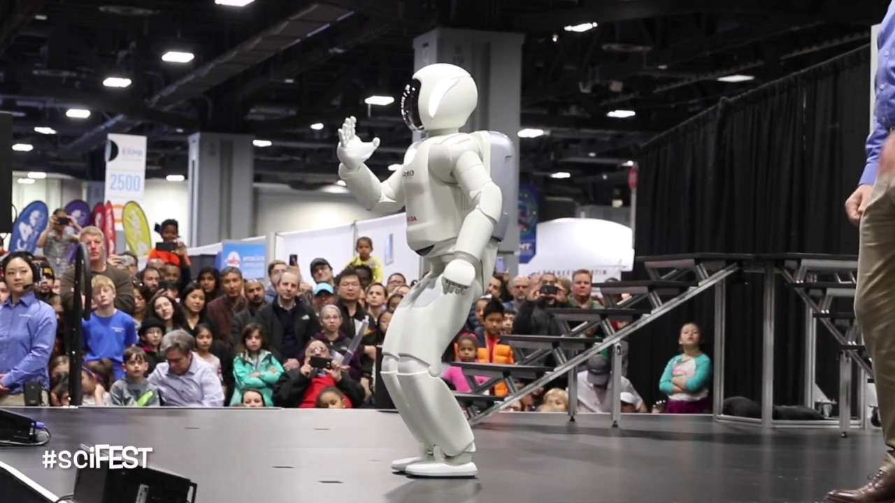 All New Honda Asimo 2018 at the USA Science and Engineering Festival.. WOW!!!