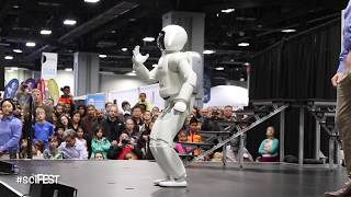 All New Honda Asimo 2018 at the USA Science and Engineering Festival