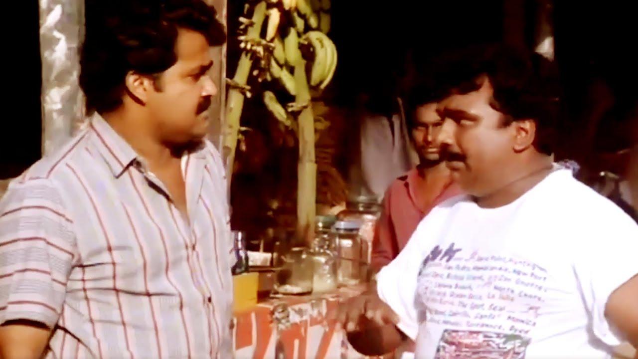 കീരിക്കാടൻ ജോസിന്റെ എച്ചിൽപട്ടികളുണ്ടെങ്കിൽ വാടാ | Cochin Haneefa Super Hit comedy Scene | Kireedam