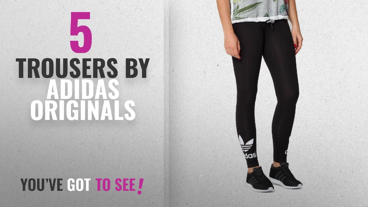 shades of sneakers for cheap special for shoe Top 10 Adidas Originals Trousers [2018]: Adidas Women's Trefoil Leggings
